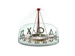 3D Lamps Lighting Models,3D Light Fixture Models Free