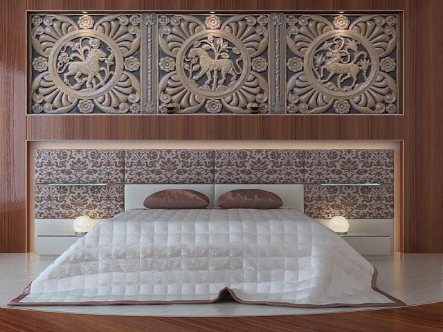 Bedroom Furniture Classic Bed 3d Model 3dsmax Files Free