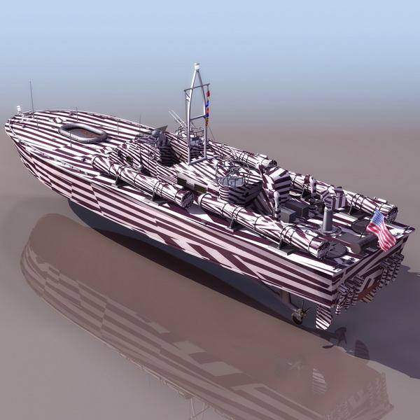 US Navy motor torpedo boat 3d model 3DS files free download  modeling 11505 on CadNav
