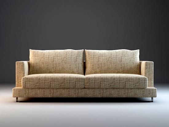 7 piece modular sectional sofa set 3d model 3dsmax3ds