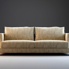 Three Cushion Sofa Furniture Row Mart Spokane 7 Piece Modular Sectional Set 3d Model 3dsmax,3ds ...