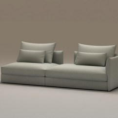 Sectional Sofa Designs For Living Room Wall Pictures Singapore Modern Modular 3d Model 3dsmax Files Free ...