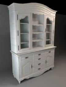 Classic Cupboard Cabinet 3d Model 3dsmax Files Free