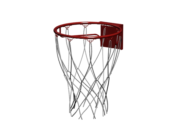 Basketball net and hoop 3d model 3dsMax files free