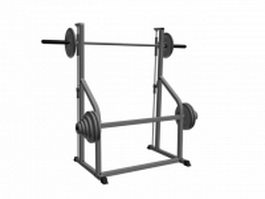 Gym Exercise Wall Ladder 3d model 3D Studio,3ds Max