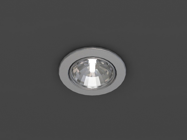 flush mount kitchen lights fix faucet cob led downlight 3d model 3dsmax,wavefront,3ds files free ...