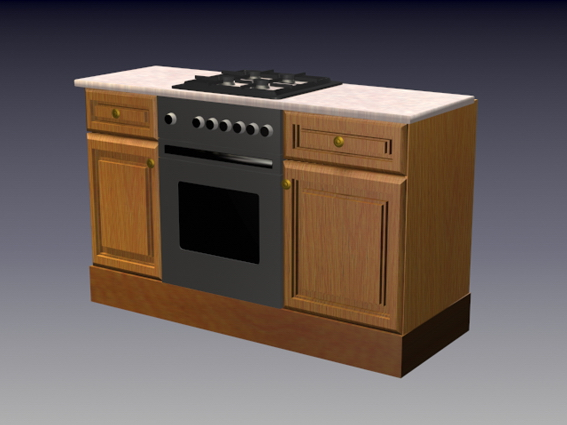 Batamhousing.com kitchen designs are increasingly important; Gas stove wood cabinet 3d model 3dsMax,3ds files free download - modeling 16667 on CadNav