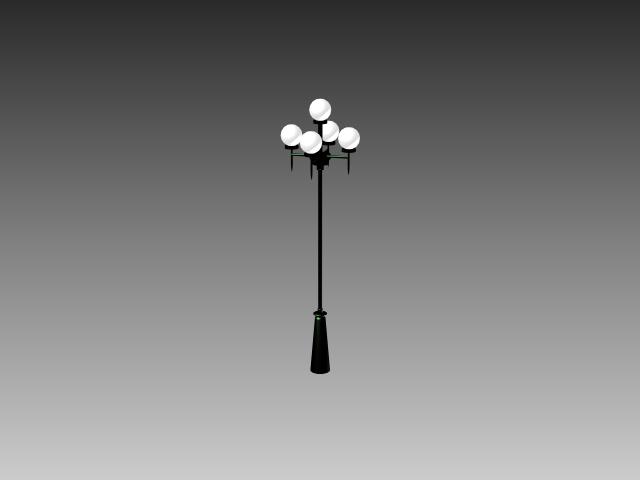 Modern Street Lamp 3d Model 3dsMax3dsAutoCAD Files Free Download Modeling 16817 On CadNav