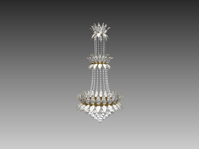 flush mount kitchen lights towels bulk crystal chandelier 3d model 3dsmax,3ds,autocad files free ...