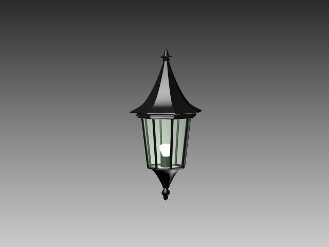 Outdoor Wall Sconce 3d Model 3dsMax3dsAutoCAD Files Free Download Modeling 17078 On CadNav