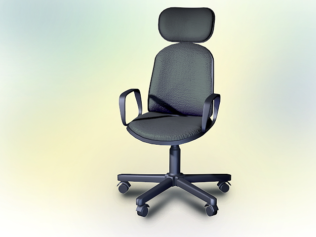 office chair 3d model comfortable rocking for nursing contemporary 3dsmax autocad files free
