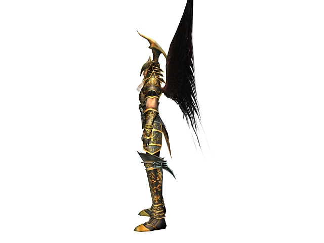Dragon knight 3d model 3dsMax files free download