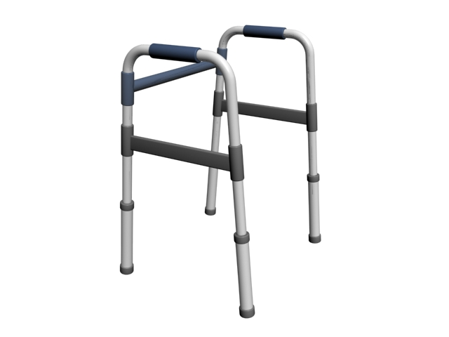 Medical platform walker 3d model 3dsMax files free