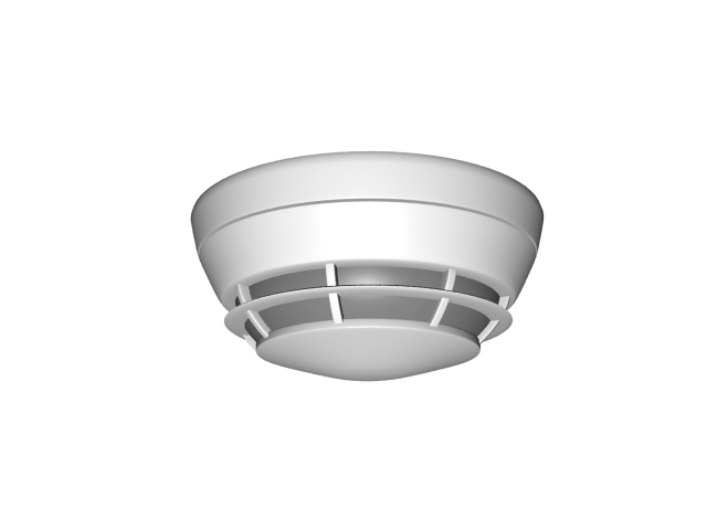 kitchen ceiling light fixture outdoor patio residential smoke detector 3d model 3ds max files free ...