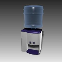 Kitchen Water Dispenser Taps Desktop Mini 3d Model Studio,3ds Max ...