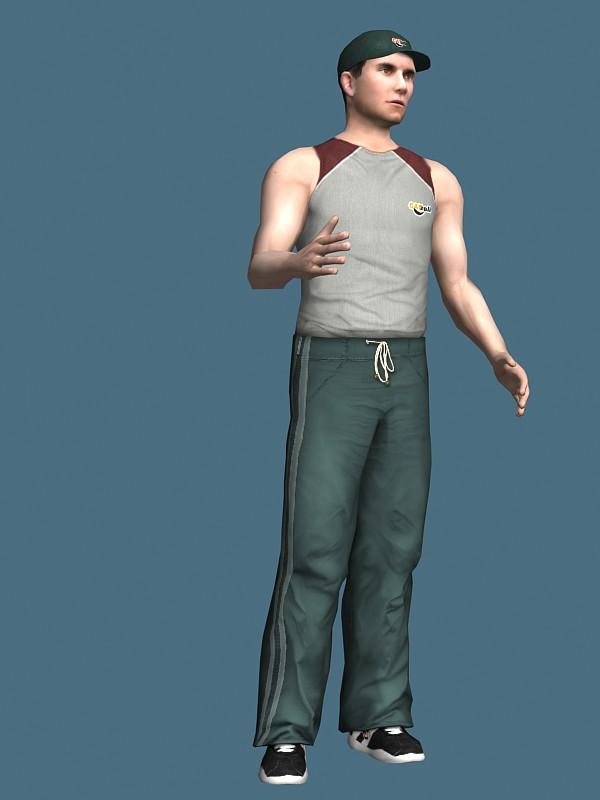 free 3d kitchen design software island black baseball player rigged model 3ds max,maya files ...