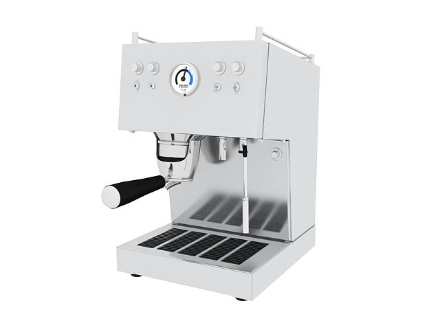 bosch kitchen machine displays ascaso espresso 3d model 3ds max files free ...