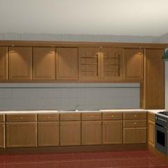 Kitchen Cabinet Software Chili Pepper Decorating Themes L Design 3d Model Studio,3ds Max Files Free ...