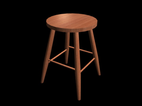 metal tub chair ikea glass dining table and 4 chairs round wood bar stool 3d model studio,3ds max files free download - modeling 24945 on cadnav