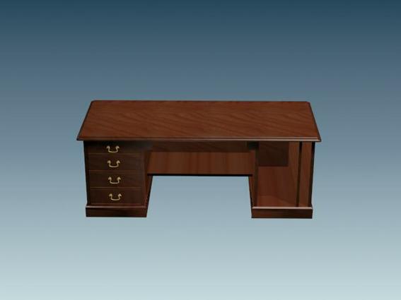 plastic swivel chair parsons chairs kirklands classic office desk 3d model studio,3ds max files free download - modeling 25166 on cadnav