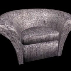 Half Circle Chair Massage Zero Gravity 3d Model Studio 3ds Max Files Free Download
