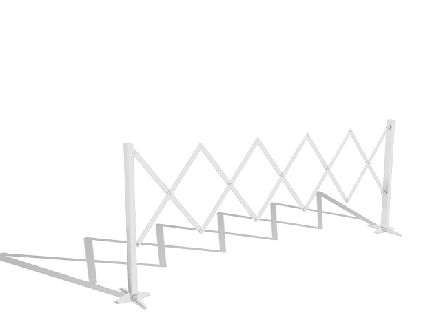 Expandable barricades 3d model 3ds max files free download