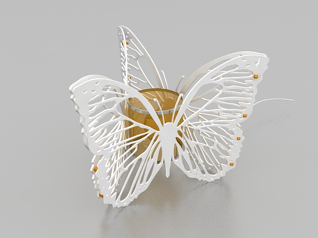 Butterfly table lamp 3d model 3ds max files free download  modeling 27810 on CadNav