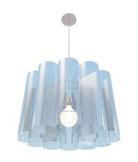 Blue Acrylic pendant light 3d model 3ds max files free ...