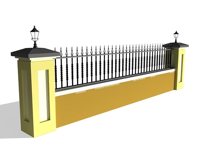 3ds Max Iron Fence - Inspirational Interior style concepts for