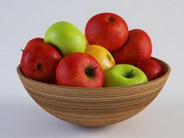 Fruit Bowl 3d Model Free Download