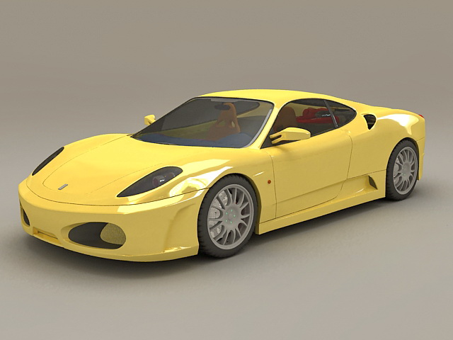 food truck kitchen equipment base cabinets with drawers ferrari f430 berlinetta 3d model 3ds max files free ...