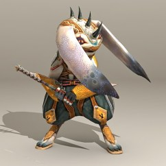 Free 3d Kitchen Design Software Commercial Fan Extractor Warrior Rabbit Character Model 3ds Max Files ...