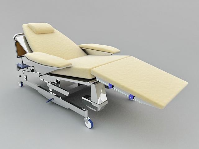 wood stool chair design barber parts diagram medical hospital bed 3d model 3ds max files free download - modeling 38287 on cadnav