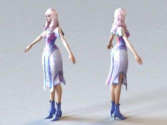 3d anime medieval princess cadnav 3ds