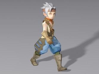 anime boy medieval 3d walking rigged models cadnav 3ds modeling max
