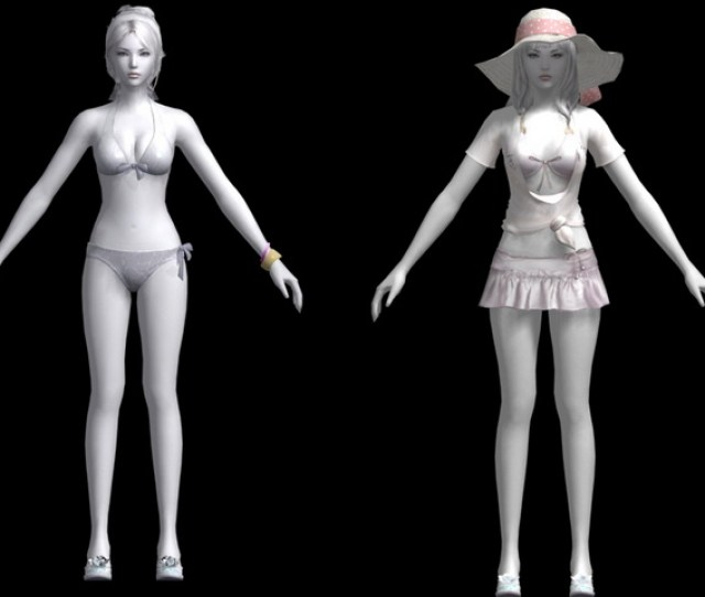 3d Model Of Sexy Girl In Bikini Swimsuit Available 3d File Format Max Autodesk 3ds Max Texture Format Dds Free Download This 3d Objects And Put It
