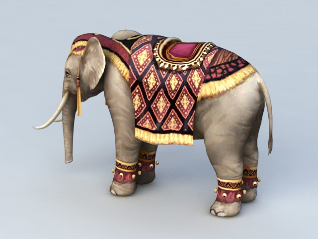 Persian Elephant 3d Model 3ds Max Files Free Download Modeling 40040 On CadNav