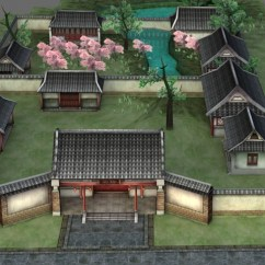 Free 3d Kitchen Design Software Rugs Walmart Ancient Chinese Courtyard House Model 3ds Max Files ...
