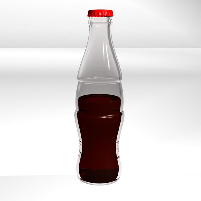 Coca Cola Bottle 3d Model Maya Files Free Download