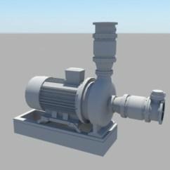 Food Truck Kitchen Equipment Organize My Water Pump 3d Model Maya Files Free Download - Modeling ...