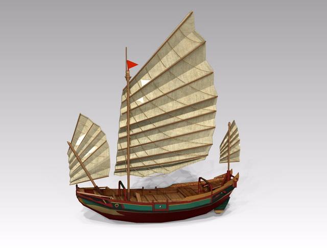old wooden sailing ship