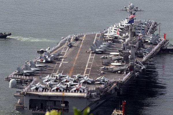 全球現役航母一覽 美國超半數_圖片頻道_財新網