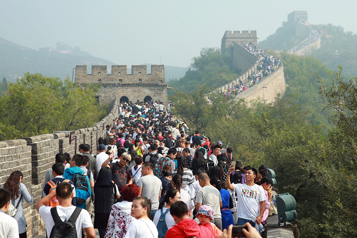 China to Wire Great Wall for HighTech Tourism  Caixin Global