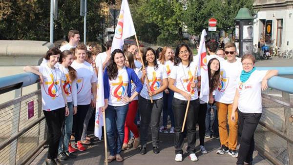 Voluntários reunidos em Cracóvia, na Polônia / Foto: Rádio Vaticano