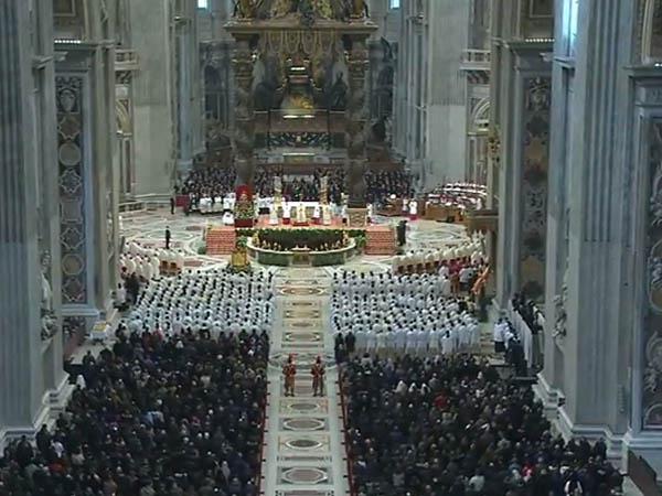 Membros da Cúria, do governatorato e de instituições ligadas à Santa Sé celebram Jubileu com o Papa / Foto: L'Osservatore Romano
