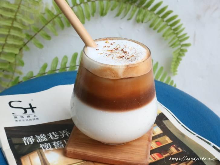 20181223224838 26 - 沒有招牌也沒有名字的咖啡館,咖啡一杯只要100元,還有超好吃的千層蛋糕~