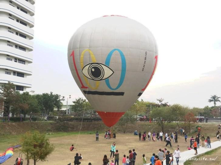 20190120181718 29 - 台中也出現熱氣球了!除了起球表演及熱氣球吊籃拍照外,還可以走進熱氣球體驗唷~