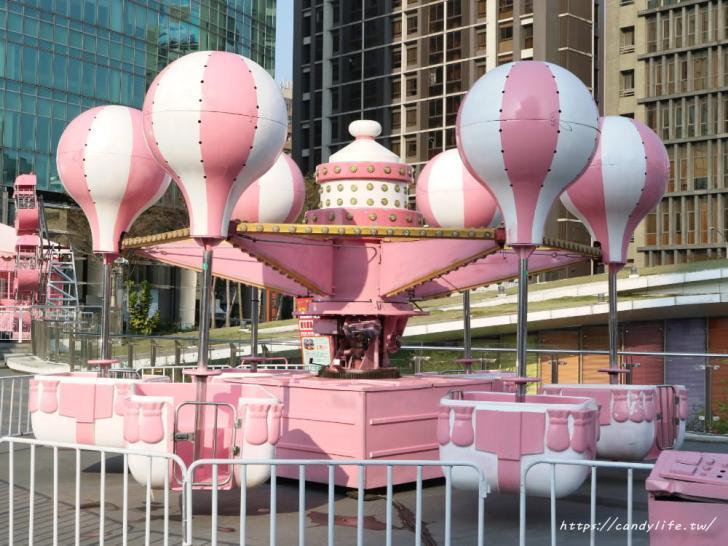 20190225171505 10 - IG超夯粉紅熱氣球打卡點就在台中,還有粉紅色咖啡杯及粉紅旋轉木馬~