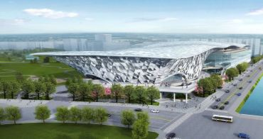 等了20年!台中水湳國際會展中心今開工,預計2023年啟用~