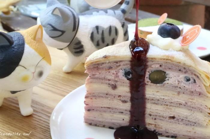 台中美食│Glocke Bakery G貓甜點〃結合貓咪中途之家的甜點店,甜點好吃,還有可愛的貓咪作伴~